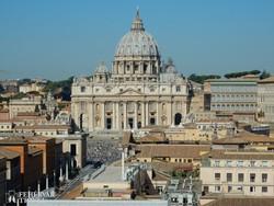 a Szent Péter-székesegyház Rómában