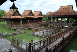 a Kambodzsai Kulturális Falu egy részlete