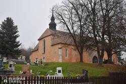 fotószünet Mátraverebély falu gótikus templománál