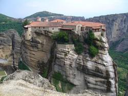 Meteorák: a Varlaam-kolostor