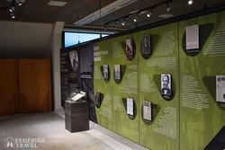 kiállításrészlet az ipolytarnóci látogatói központban