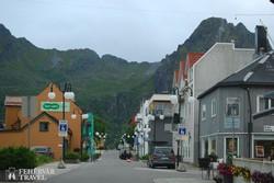 """Svolvӕr, a Lofoten-szigetek """"fővárosa"""""""
