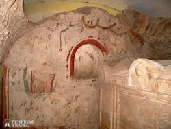 ókeresztény mauzóleum Pécsett (részlet)
