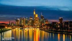 Frankfurt esti fényei