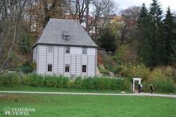 Goethe kerti háza Weimarban