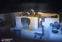 füstös konyha a szennai skanzenben