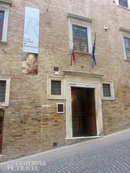 Raffaello szülőháza Urbinóban