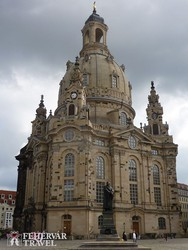 Drezda: a Frauenkirche (Miasszonyunk-templom)