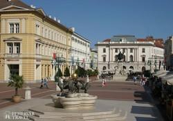 séta Szegeden – a Klauzál tér
