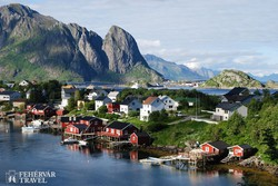 Reine – halászfalu Moskenesøy szigetén