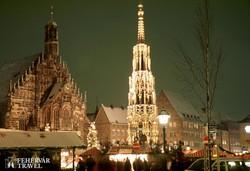 karácsonyi vásár Nürnbergben