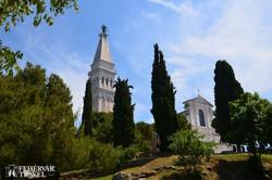 a Szent Euphémia-templom Rovinjban
