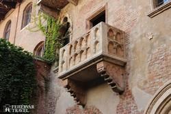 Júlia erkélye Veronában