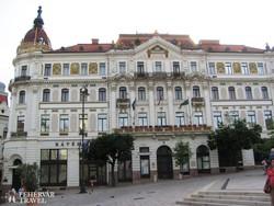 Pécs – a megyeháza épülete