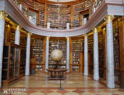 Pannonhalma – az apátsági könyvtár