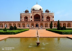 Humayun mogul sah mauzóleuma Delhiben
