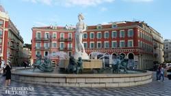 Nizza – a Massena tér