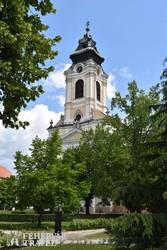 az egykori ciszterci apátsági templom Szentgotthárdon