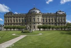 Würzburg: a Residenz (az egykori hercegérseki palota) – részlet