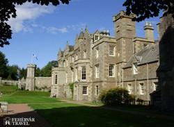 Abbotsford festői kastélya