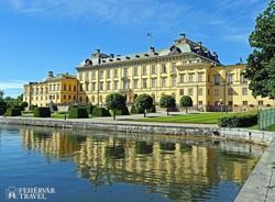 a Drottningholm-kastély egy részlete