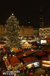 karácsonyi vásár Drezdában