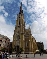 Újvidék: a Mária Neve-templom