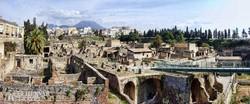 Herculaneum látványos romvárosa