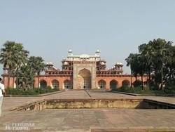 Sikandra: Akbar császár mauzóleuma