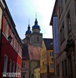 hangulatos utcarészlet Bayreuthban