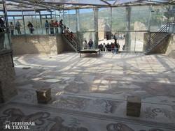 Piazza Armerina – mozaikok a római villából