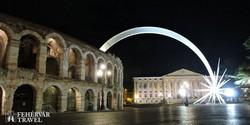 a veronai Aréna adventi pompában