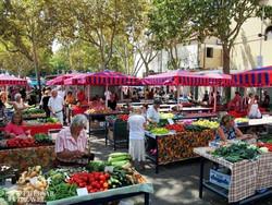 Split híres piaca