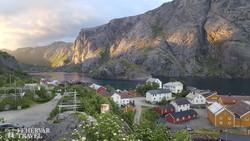 Nusfjord – halászfalu Flakstadøy szigetén