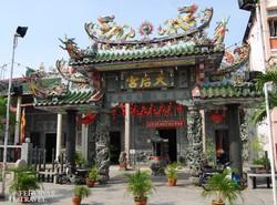 kínai templom Penang szigetén