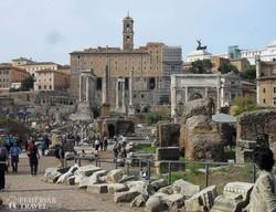 Róma: a Forum Romanum – részlet