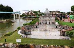 a római Szent Péter tér az Italia in Miniaturában