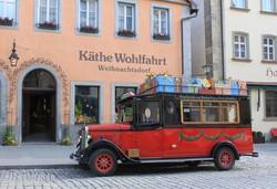 Rothenburg – a Karácsonyi falu bejárata