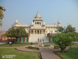 Jodhpur egyik éke, a Jaswant Thada
