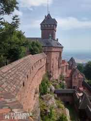 Koenigsbourg pompás várkastélya – részlet