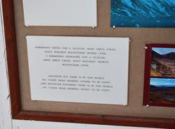 Buddha-idézet a Kőrösi Csoma Sándor Emlékpark tibeti kiállításán