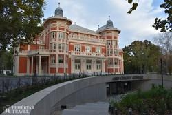 Kaposvár - a Csiky Gergely Színház szecessziós épülete
