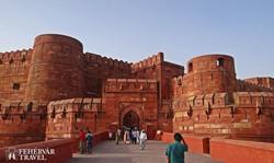 az Agrai erőd bejárata