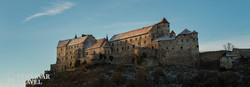 Burghausen vára téli hangulatban