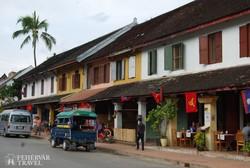 Luang Prabang főutcája