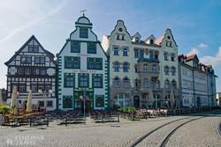 Erfurt óvárosa – részlet