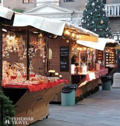 karácsonyi portékák a veronai adventi vásárban