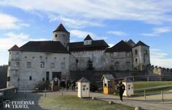 Burghausen: a várkomplexum bejárata