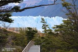 a Perito Moreno-gleccser
