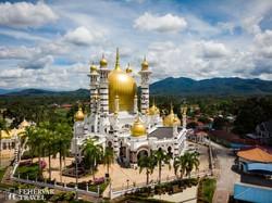 az Ubudiah-mecset Kuala Kangsarban